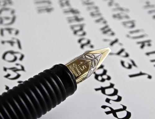 Brief an einen Geschäftsfreund